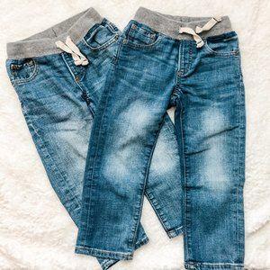GAP Toddler Boys' 2-pk Slim-Fit Jeans